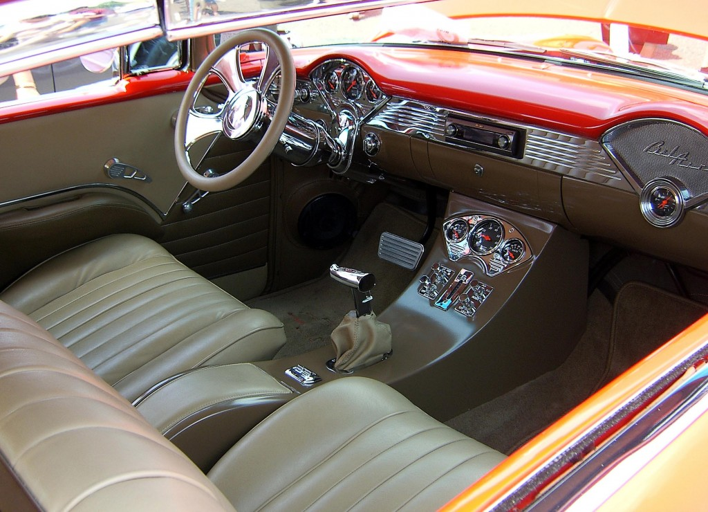 1950s Chevy Belair Custom Interior