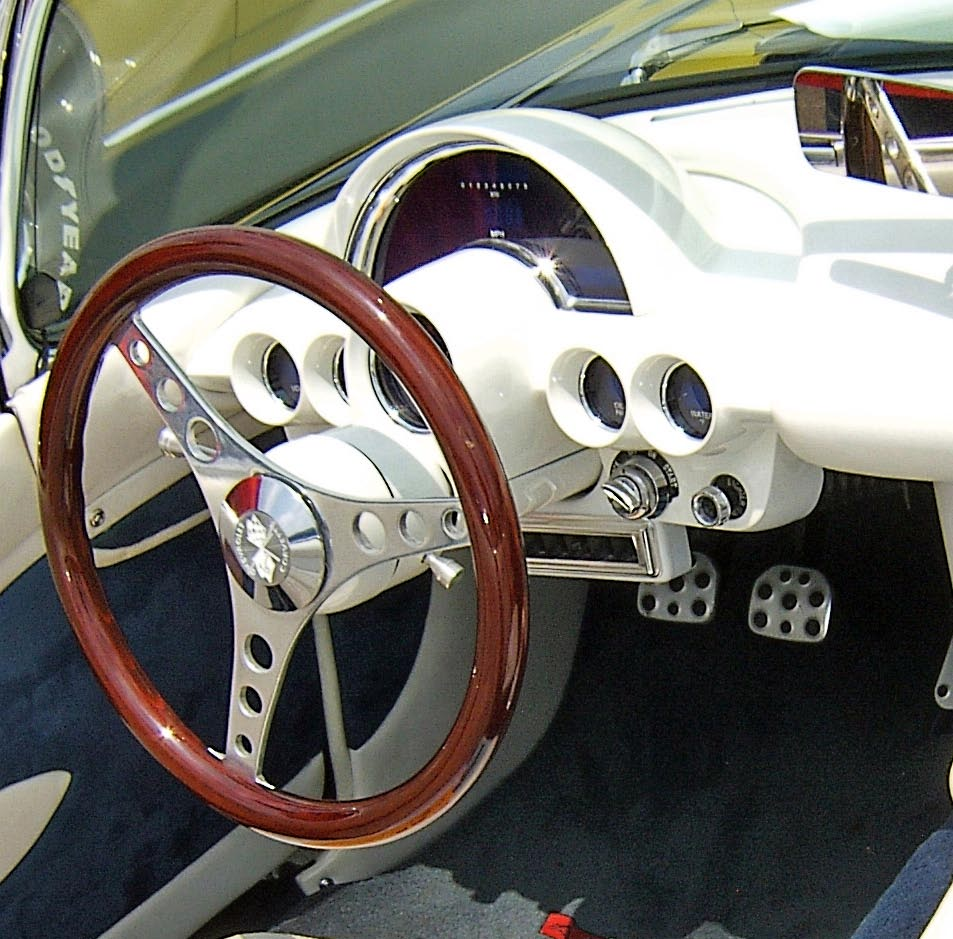 1960s Corvette Dash Board