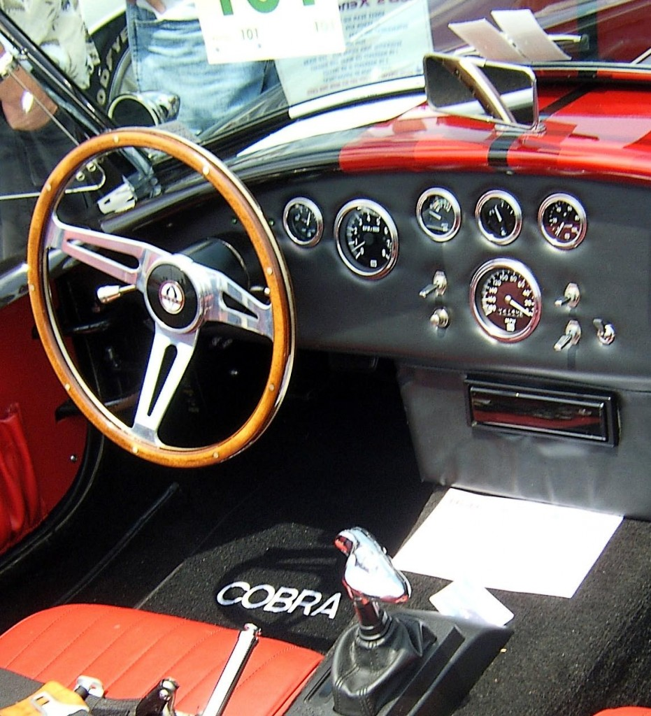Ford Cobra Interior