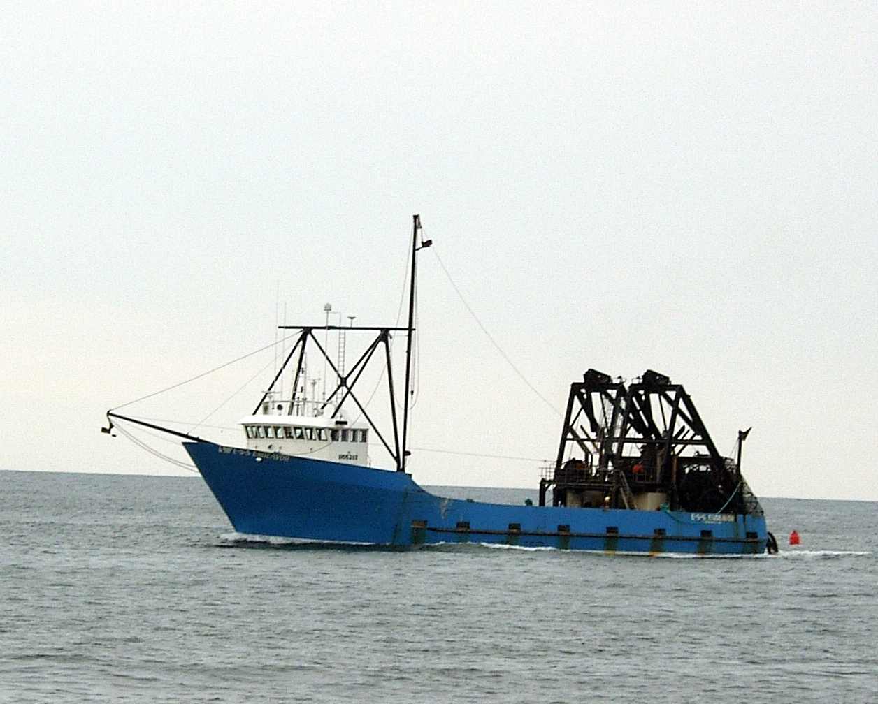 Commercial fishing boat off brigantine for What is commercial fishing