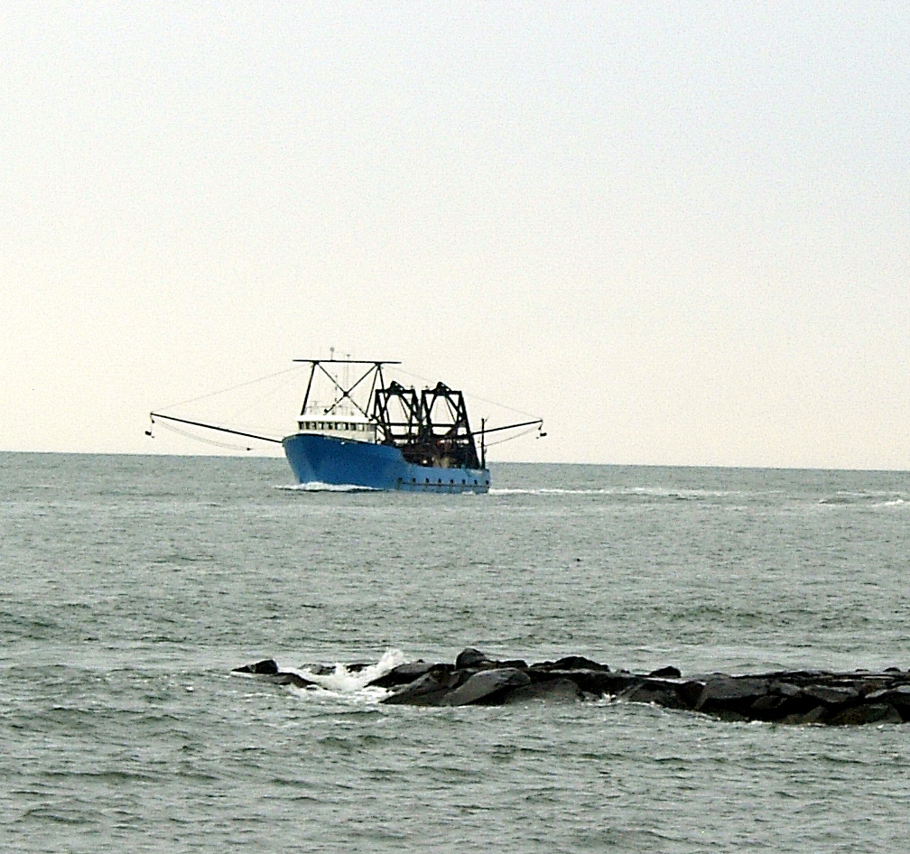 Commercial Fishing Vessel Atlantic City Inlet
