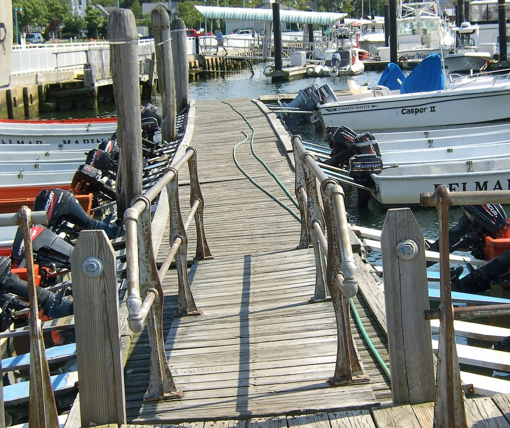 Belmar NJ Boat Rental Dock