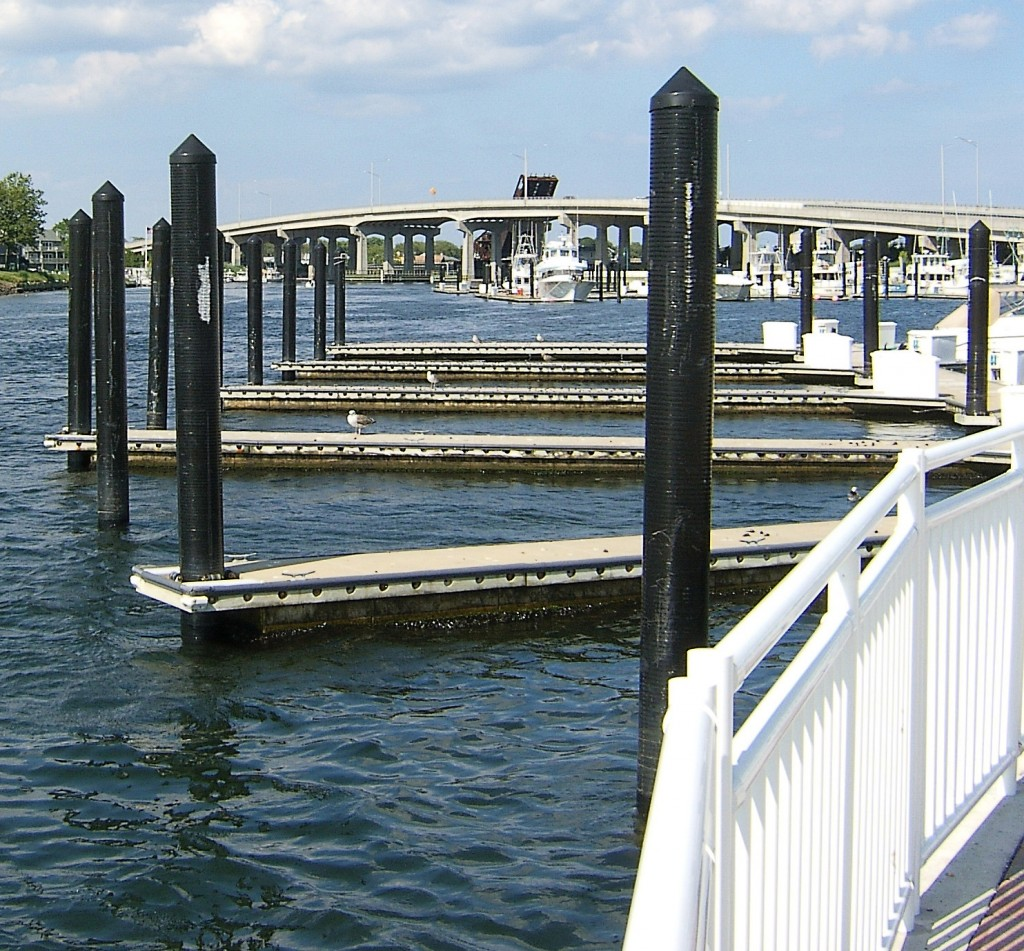 Boat Docks Shark River Bay NJ