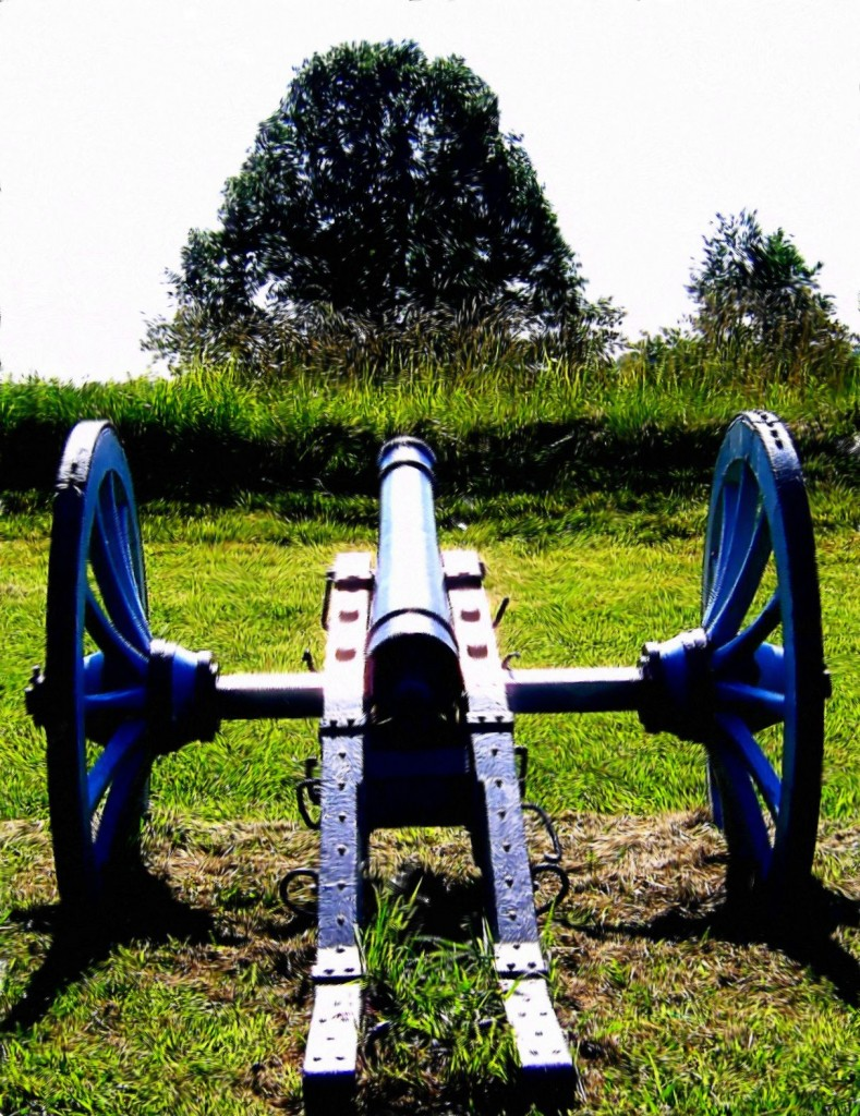 Valley Forge Field Cannon Painting
