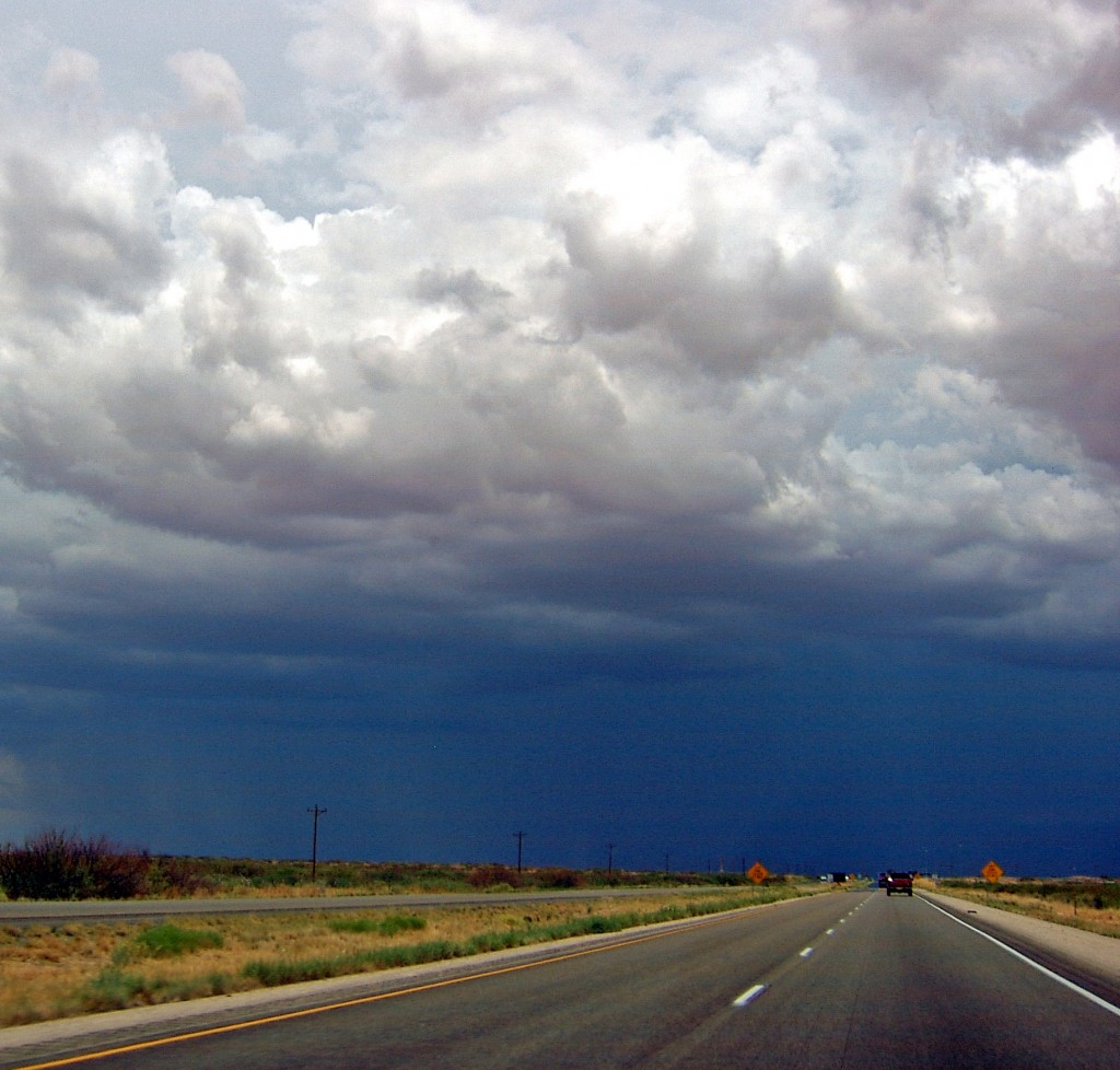 Storm Clouds In New Mexico