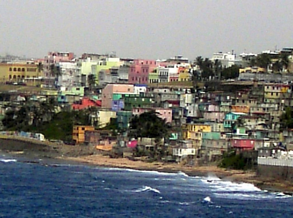 Colourful Old San Juan On The Water
