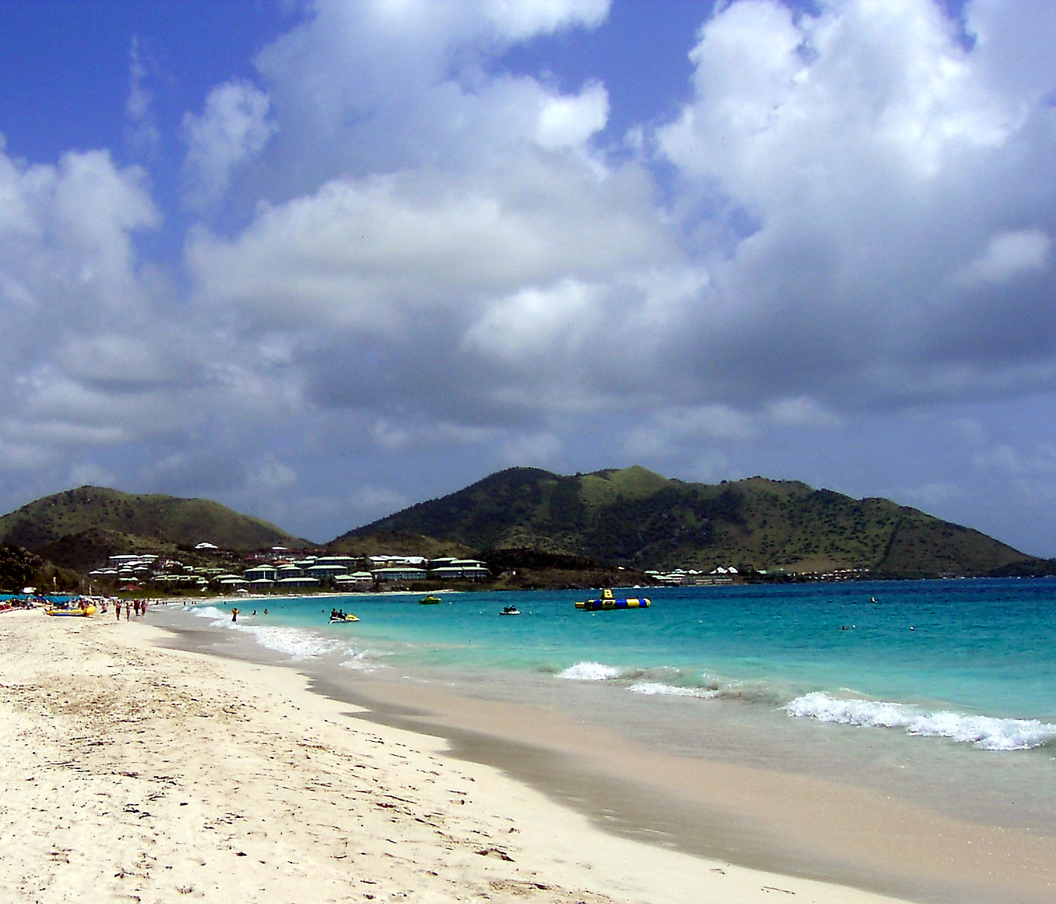 Taking It All Off in St. Martin - Putting It All On The Table