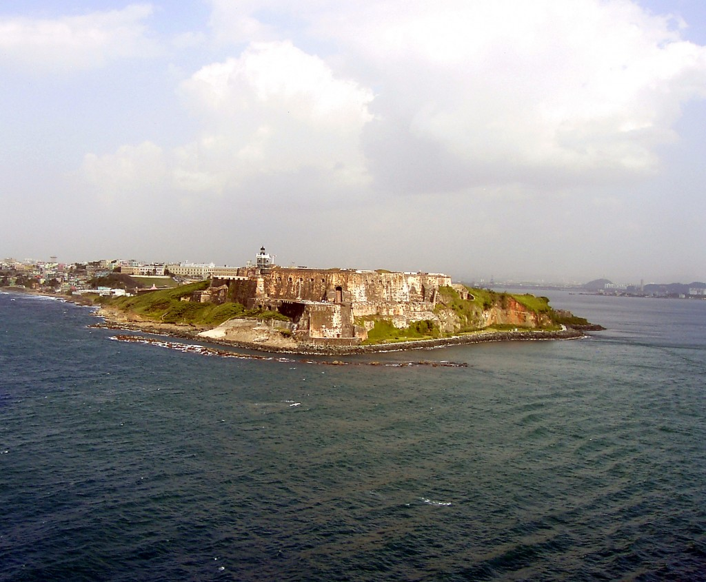 Fort San Cristobal San Juan Harbor