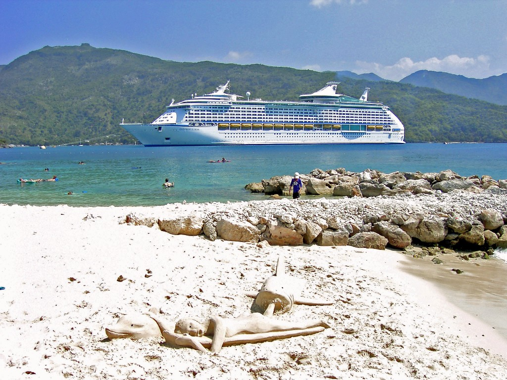 Fun Beach Day In Labadee Haiti