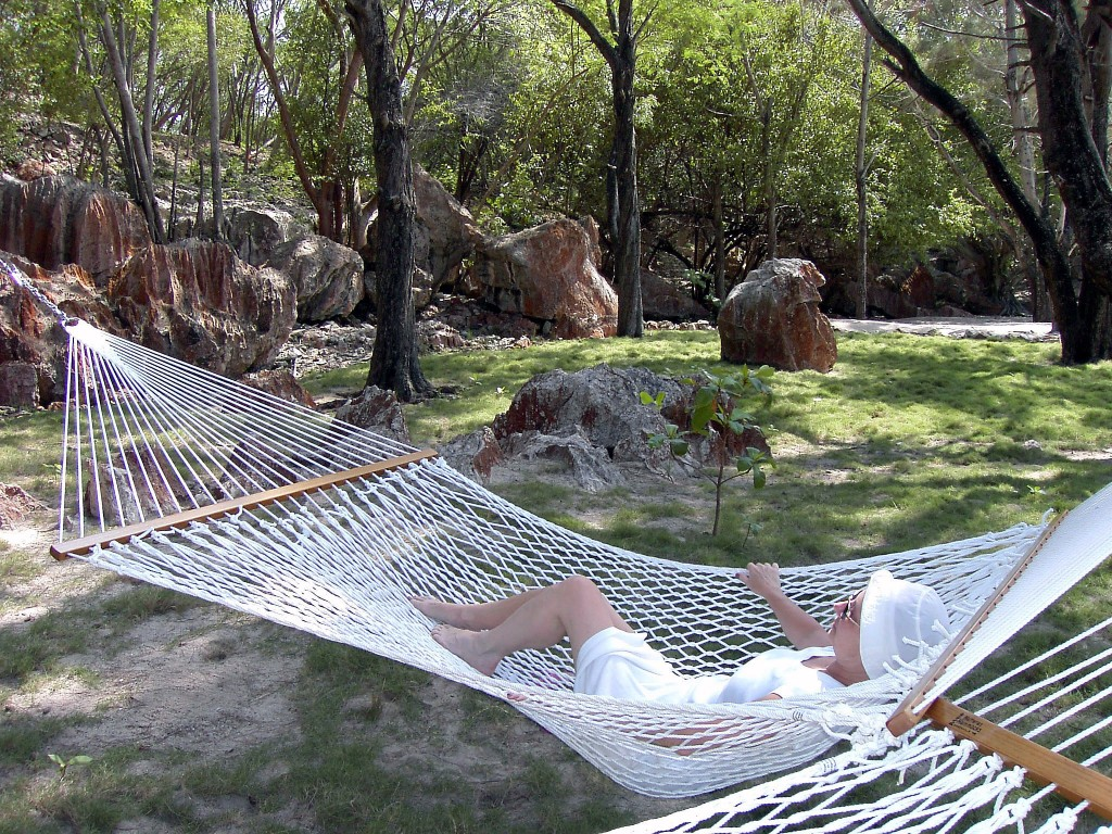 Hammock Living On Labadee Beach
