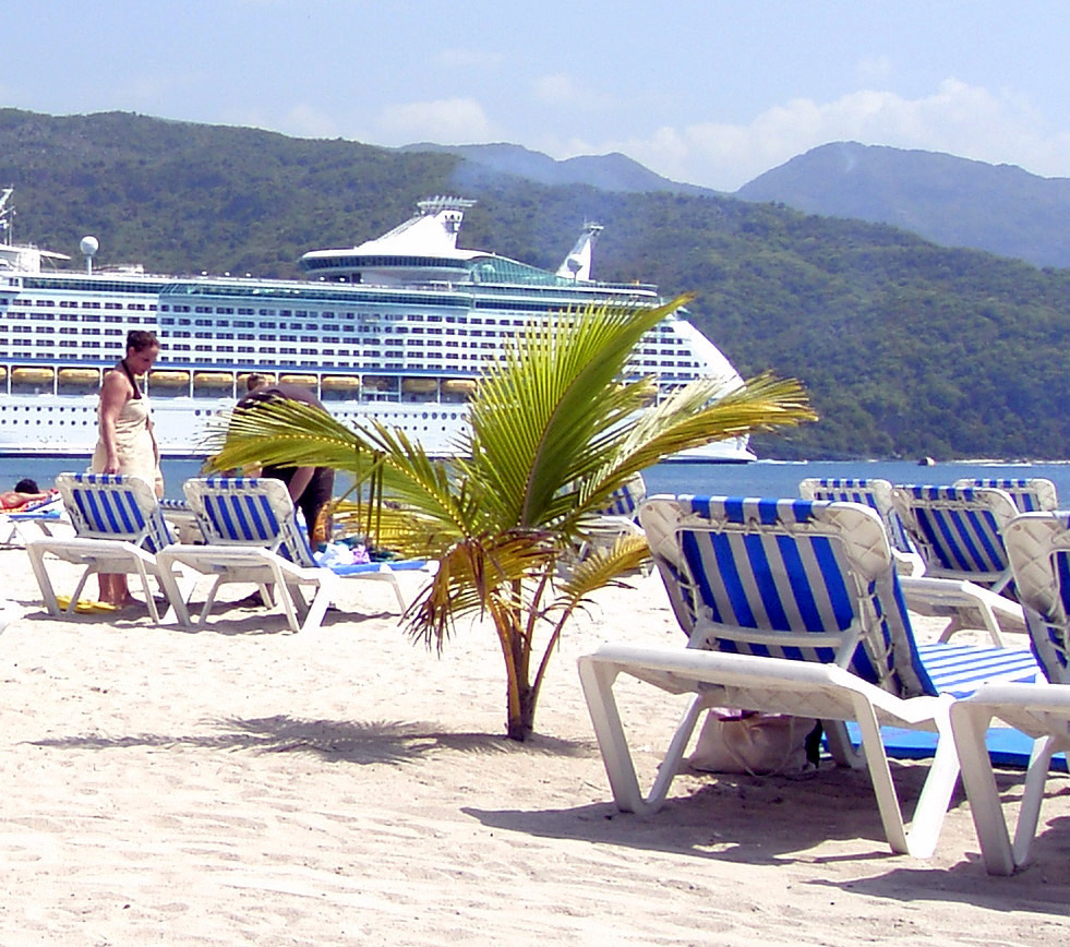 Labadee Beach Lounges In Haiti