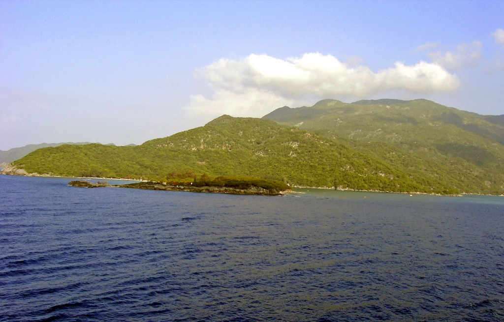 Labadee Tropical Green With Blue Colour Waters