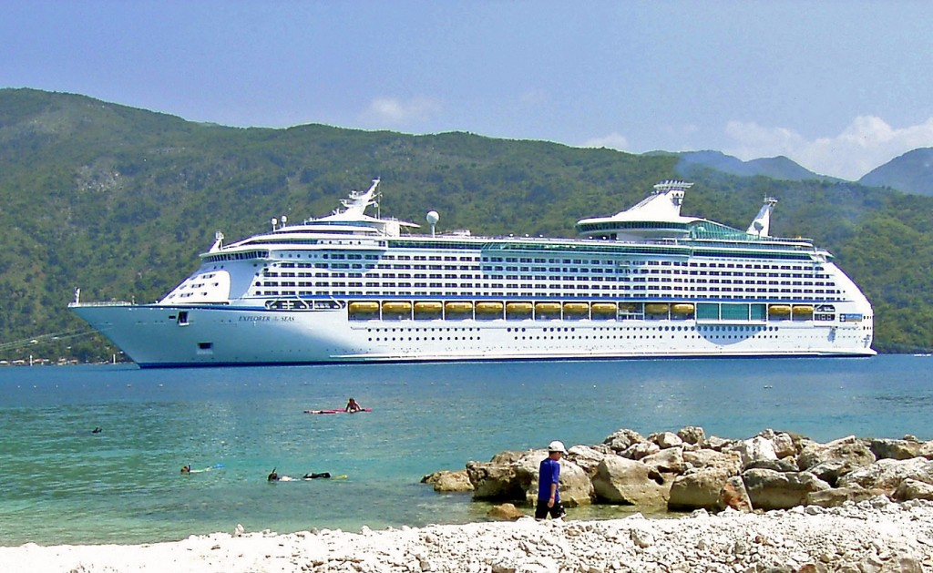 Royal Caribbean Cruise Ship In Labadee Haiti