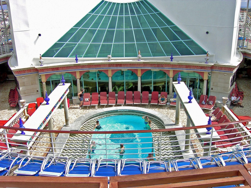 Royal Caribbean Explorer Of The Seas Solarium Lounge