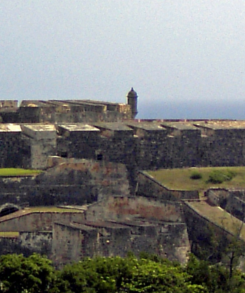 San Juan Fort In Puerto Rico
