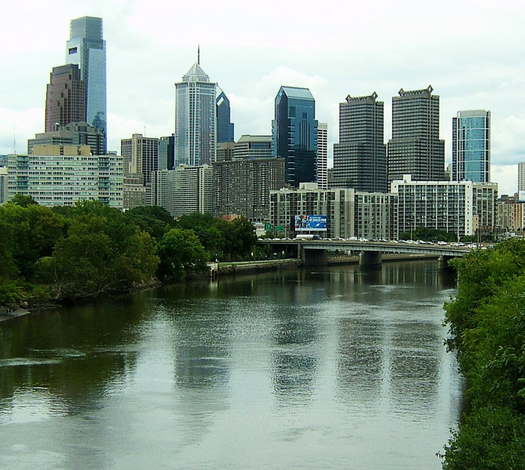PHILLY REFLECTS ON THE SCHUYLKILL RIVER