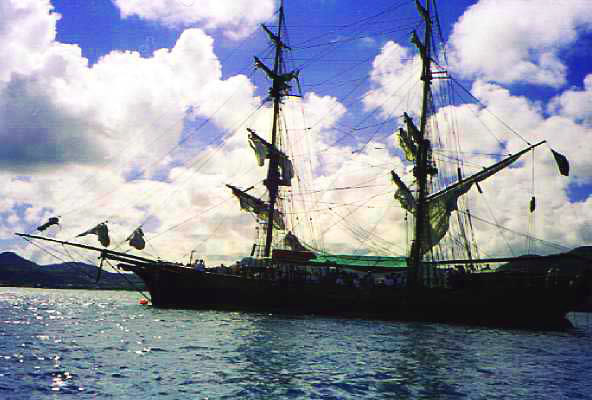 Pirate Ship In St Lucia Bay