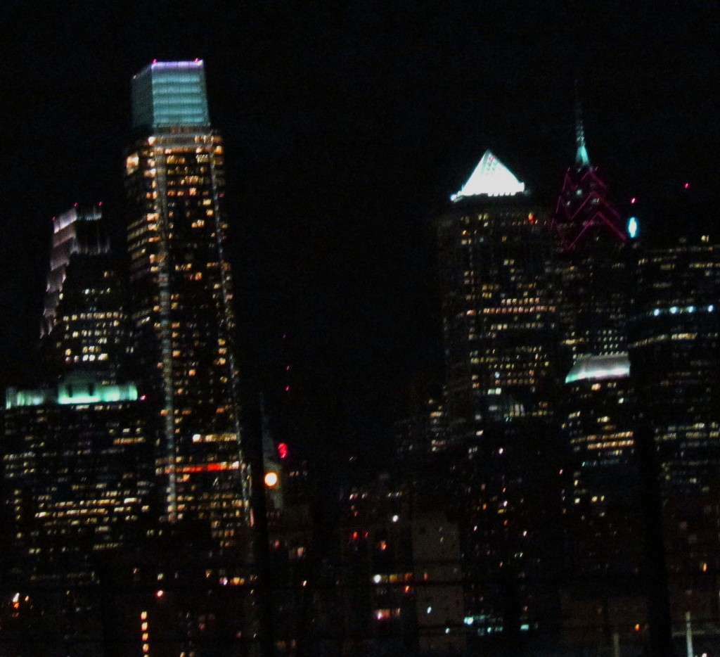 Center City Philadelphia At Night