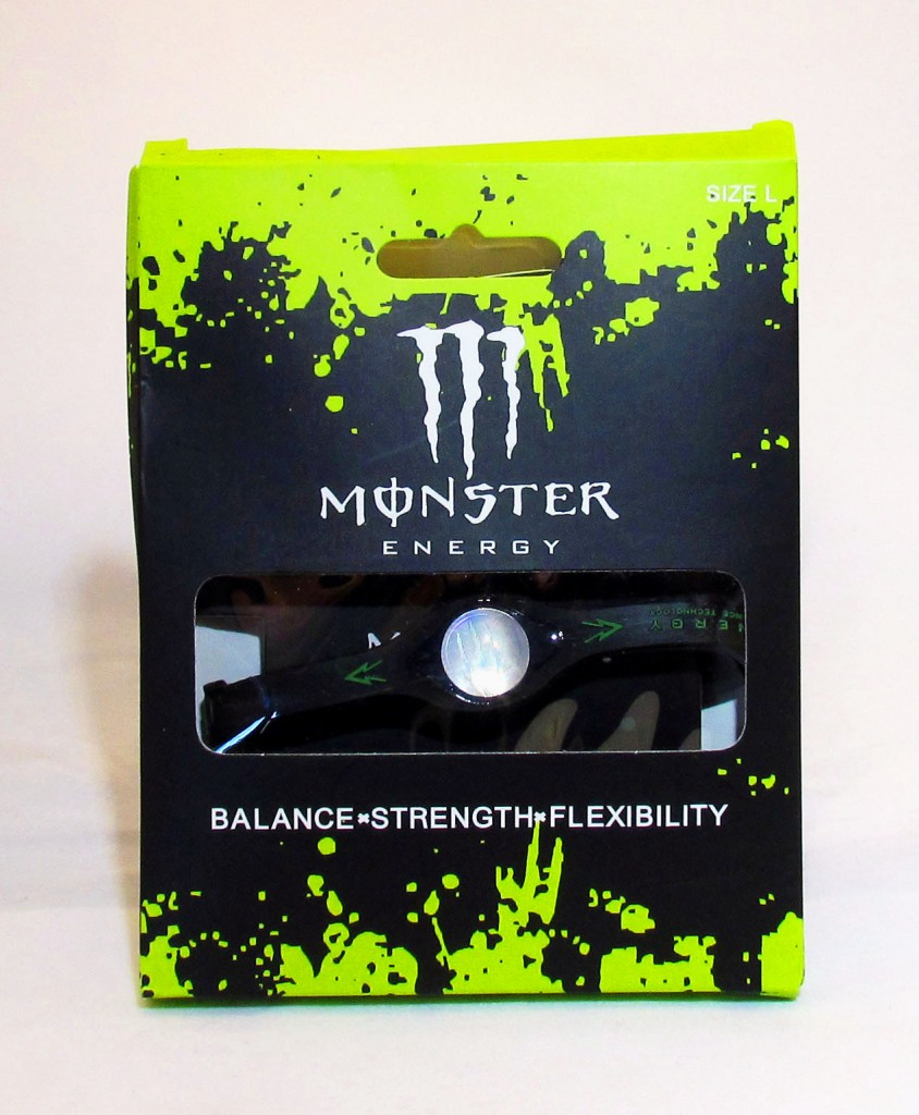 Monster Black Boxed Energy Bracelet