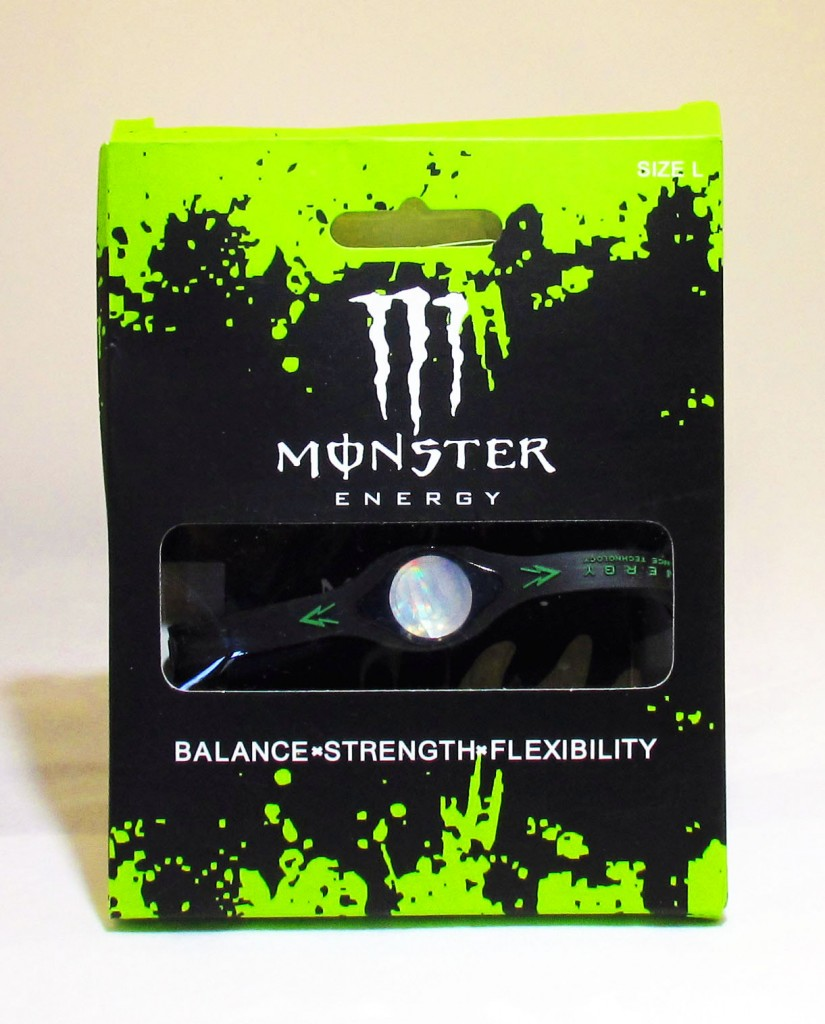 Monster Black Energy Bracelet