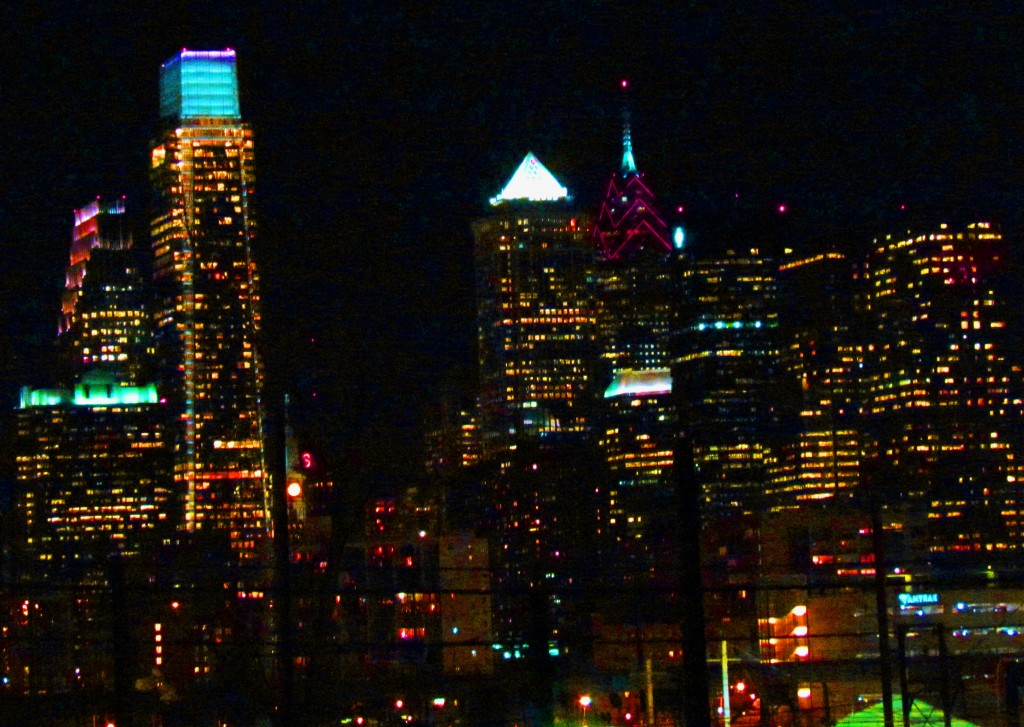 Philadelphia Lights Up The Night