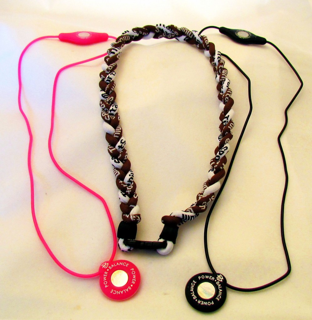 Power Silicone Balance & Titanium Necklaces