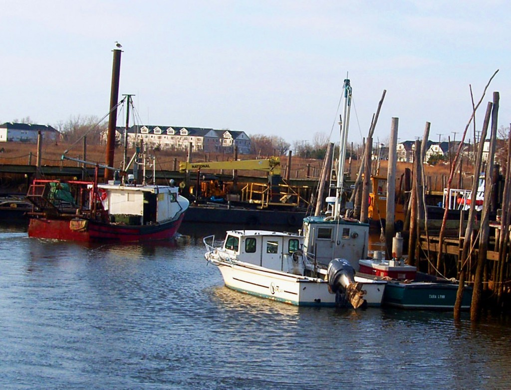Small Fishing Craft In Port Monmouth New Jersey