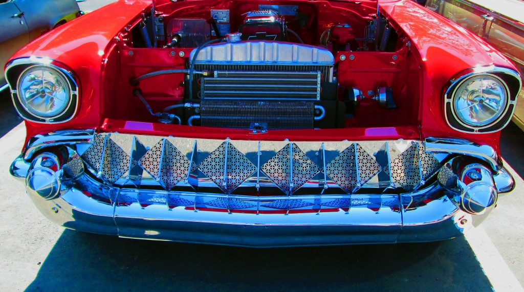 Custom Grille Of 1957 Chevy Belair