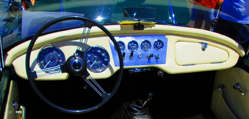 Dashboard Of Classic  1963 SP250 Daimler