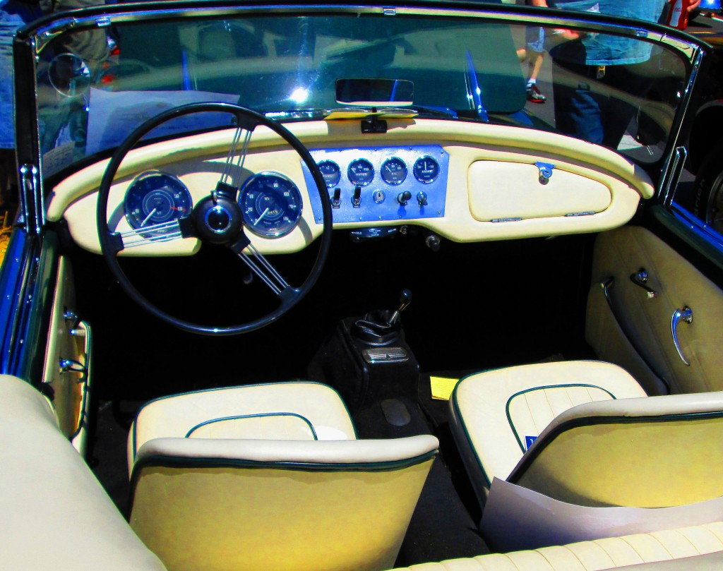 Interior Of Classic 1963 Daimler SP250