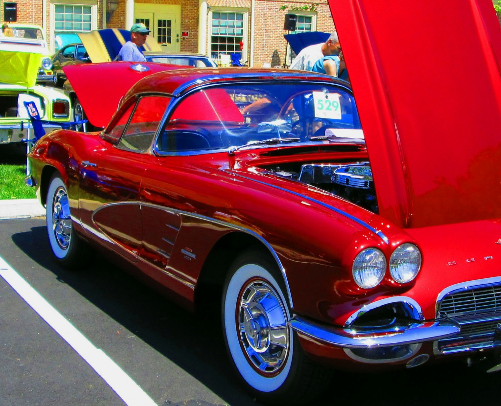 Passenger Side Of 1959 Chevy Corvette