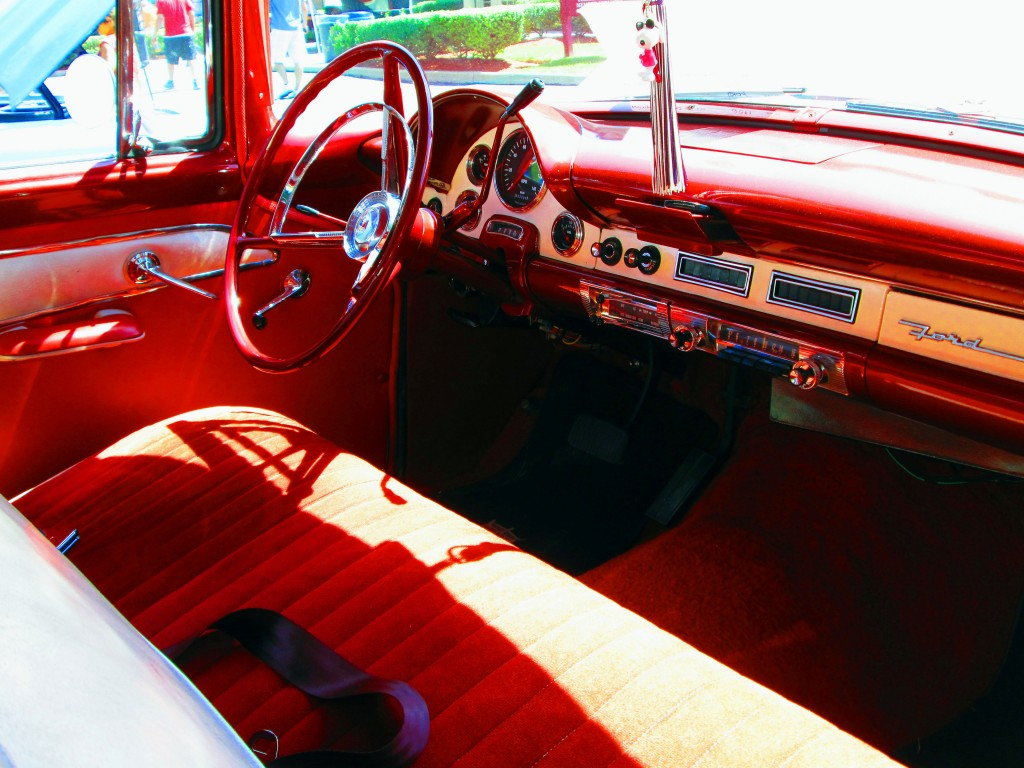 1956 Ford Fairlane Front Interior