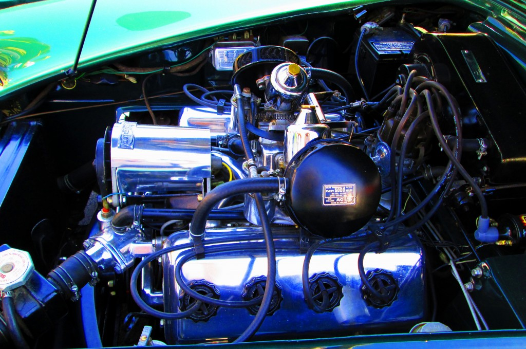 1963 English SP250 Daimler Engine