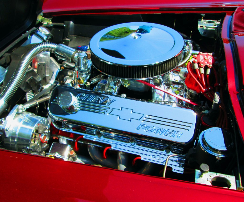 1966 Corvette Chrome Engine