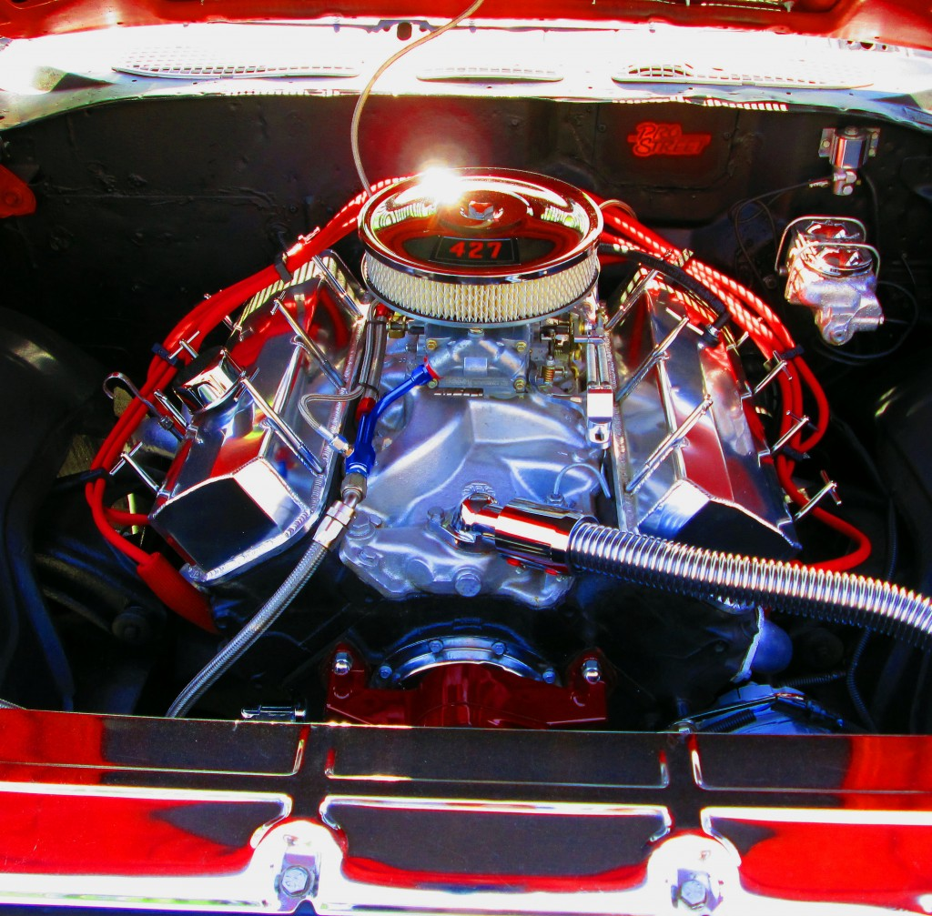 427 Cubic Inch Engine In 1969 Malibu
