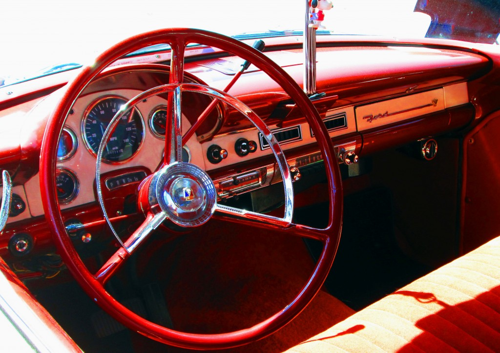 56 Ford Fairlane Dashboard
