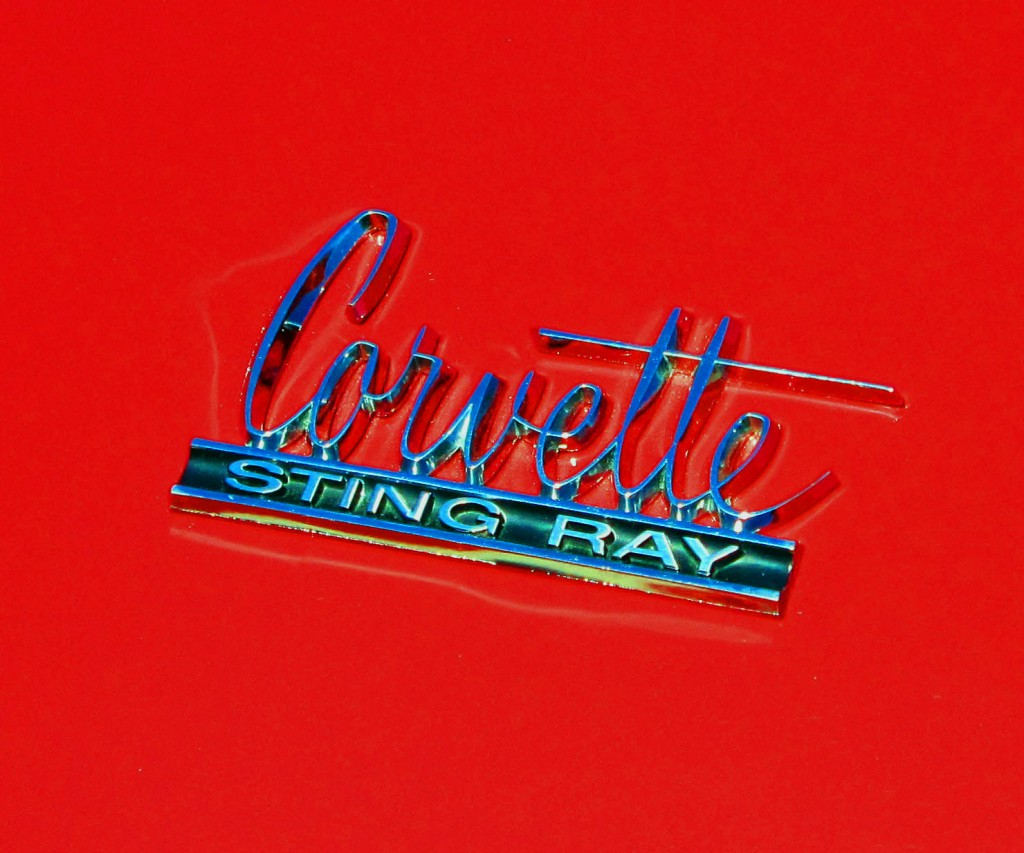 60s Corvette Stingray Emblem