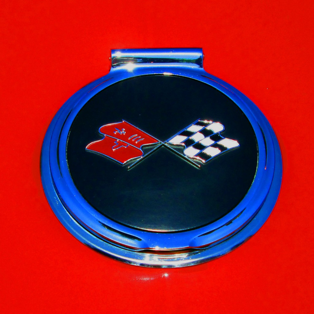66 Corvette Stingray Gas Cap Enblem