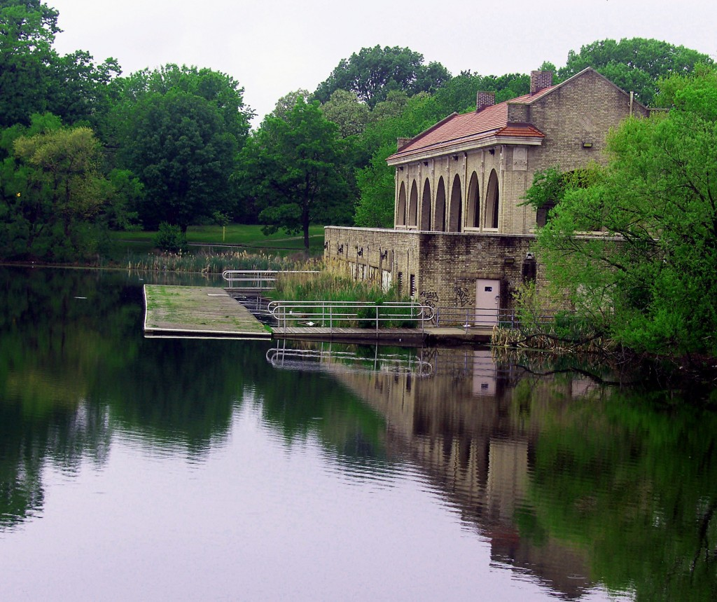 Boat House In FDR Park South Philadelphia