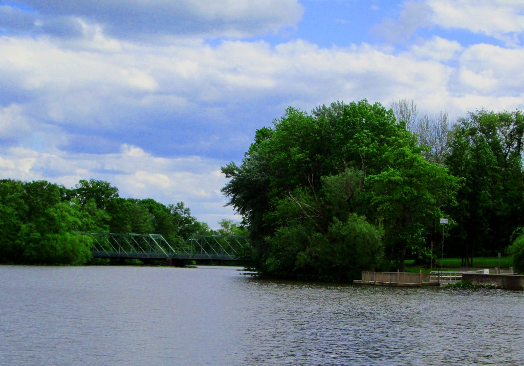 Canoe Launch & Ward Street Bridge At Peddie Lake
