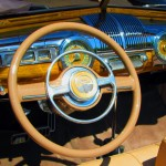 Dashboard Of Antique 1947 Ford Convertible
