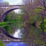 Early Spring Walk On Canal Towpath In Providence Pa