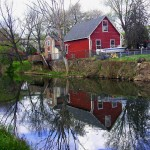 House Reflections On The Schuylkill Canal