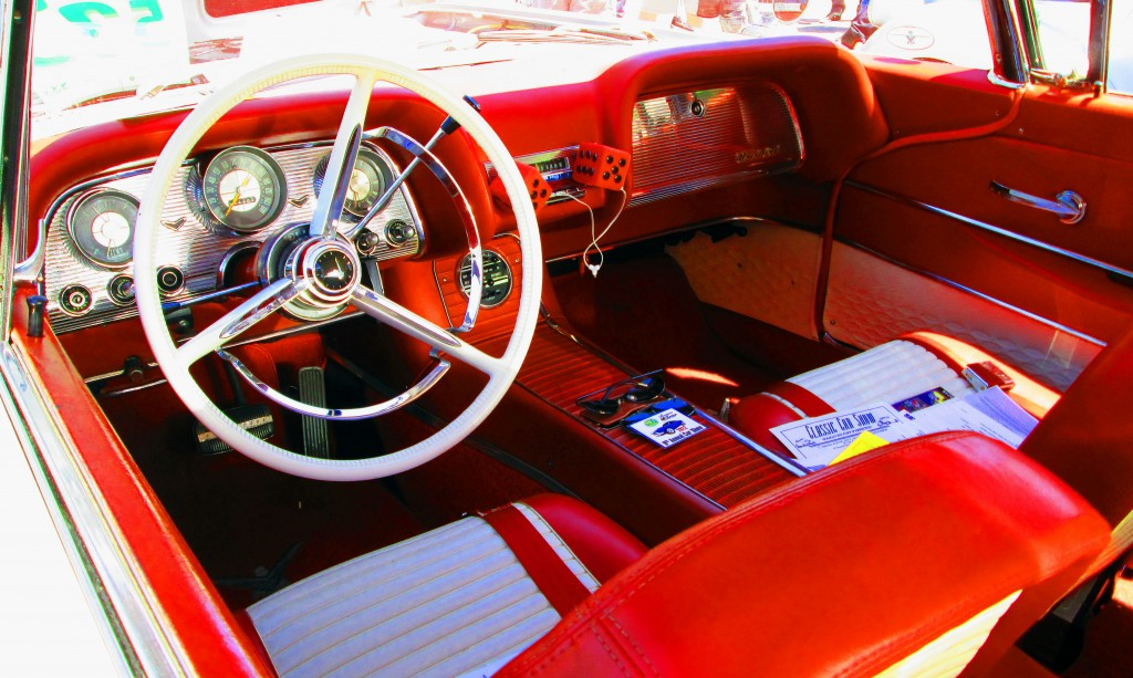 Interior Of 1958 Ford Thunderbird
