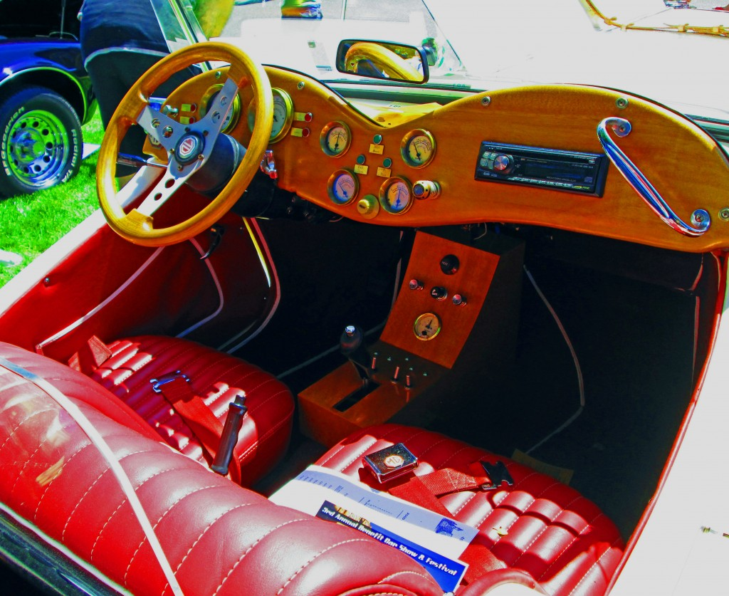 Interior Of Modified Classic 1952 MG