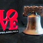 Liberty Bell & Love Statue Miniatures