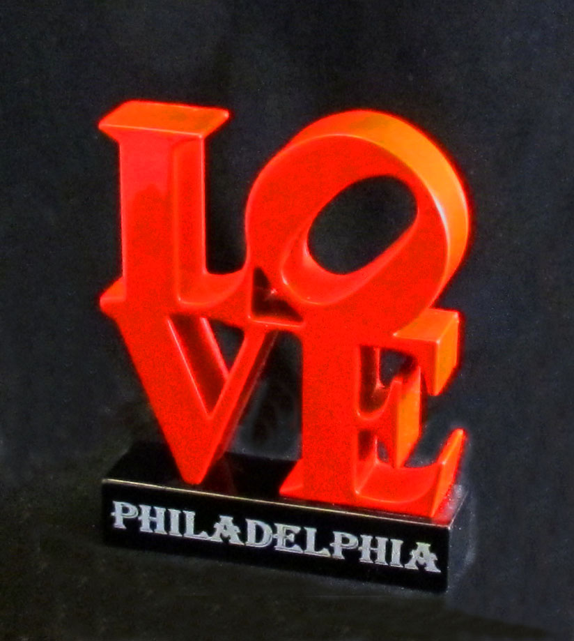 Love Park Pencil Sharpener Souvenir