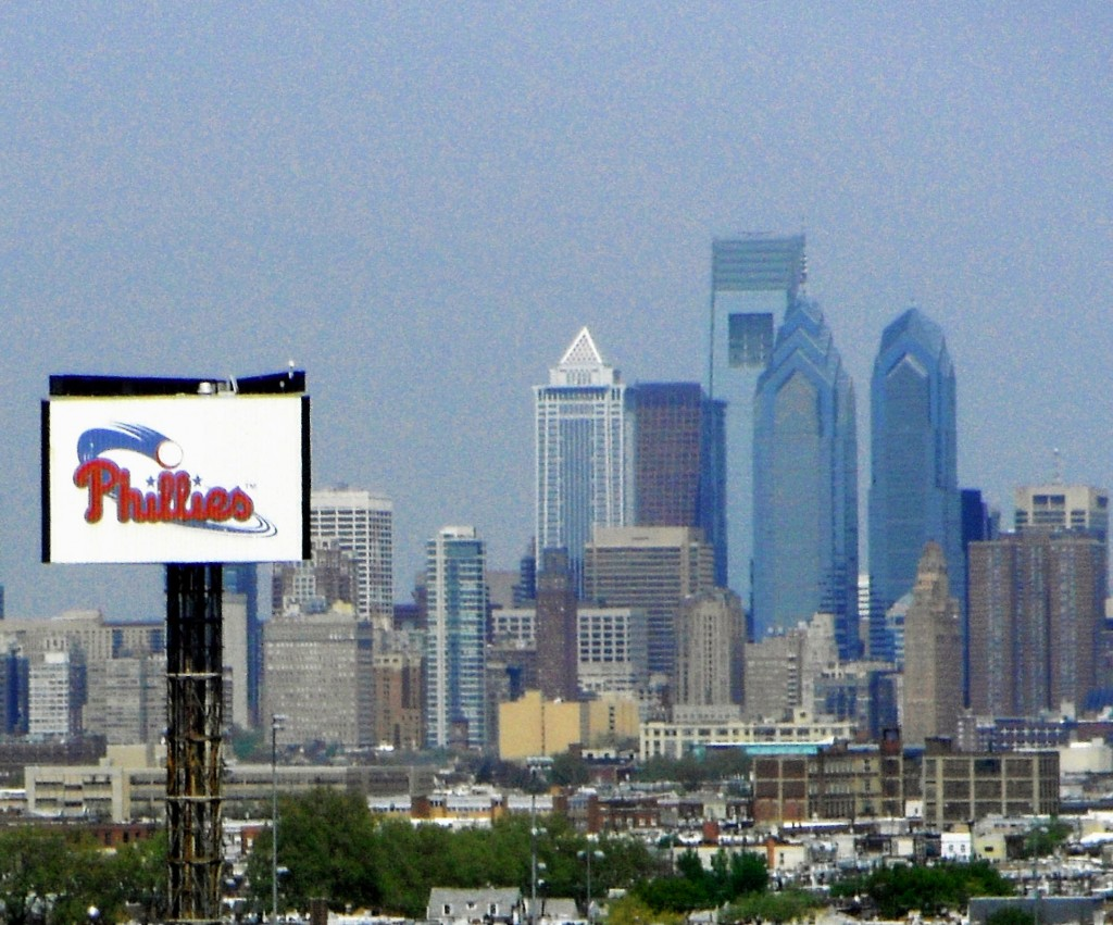 Philly Skyline Viewed From South Philadelphia