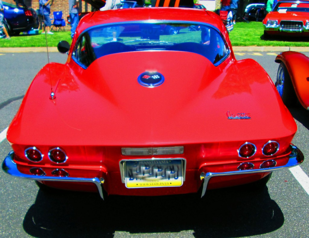 Rear Of Classic Corvette Stingray