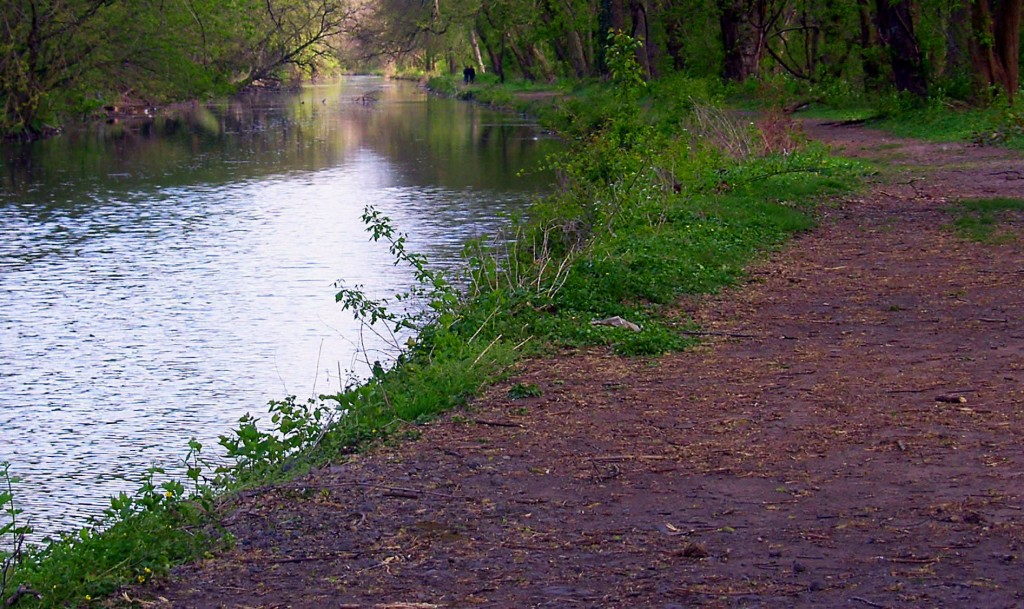 Schuylkill Canal Along The Phoenixville Greenway
